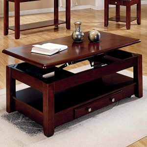 'lift-top table' coffee table