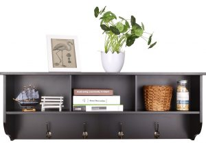 Homfa Hanging Entryway Shelf