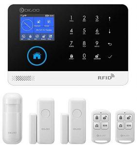 DIGOO HOSA 2G Wireless home and business security alarm