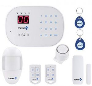 Fortress Security Store home security alarm system with a basic kit