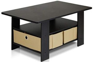 Furinno 11158EX/BR coffee table