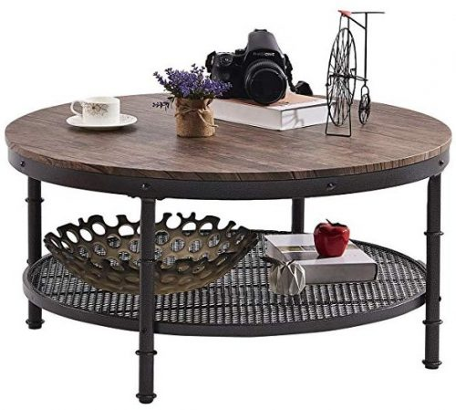 Green Forest Coffee table round industrial design
