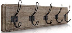 HBCY Creations Rustic coat rack