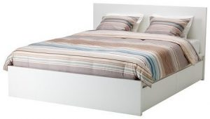 IKEA Queen Size high bed frame