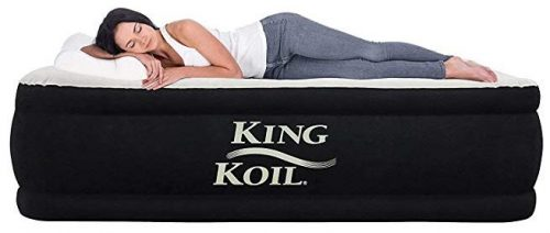 King Koil twin size luxury raised air mattress