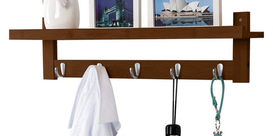 Langria Coat Rack Shelf