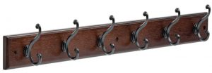 Liberty 165541 Six scroll hook rack