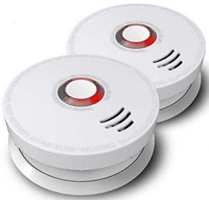 Photoelectric smoke detector by ARDWOLF, 2 packs