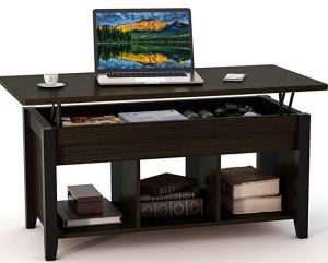Tribesigns lift top coffee table with storage
