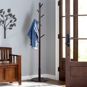 Vlush Sturdy wooden coat rack