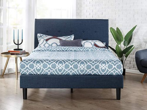 Zinus Omkaram upholstered platform bed