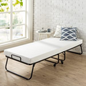 Zinus Roll Away folding guest bed