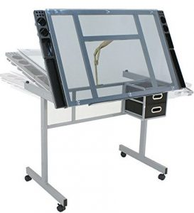 Adjustable drafting table by Nova Microdermabrasion