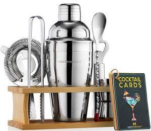 Boston cocktail shaker set by Mixology & Craft