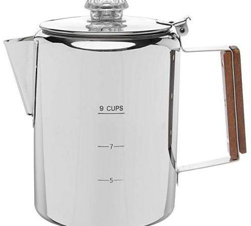Coletti Bozeman percolator coffee pot, 9 cup