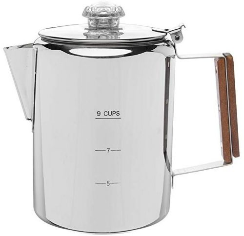 Coletti Bozeman percolator coffee pot, 9 cup