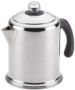 Farberware 47053 stainless steel stovetop percolator, 12 cups