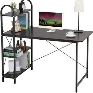Home BI Computer Desk with shelves