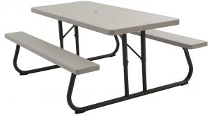 Lifetime 22119 folding picnic table, 6 feet