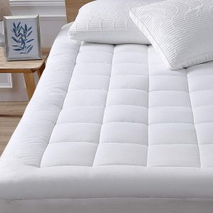 Oaskys Queen mattress pad cover cooling mattress topper