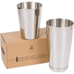 Premium cocktail shaker set by Top Shelf Bar Supply