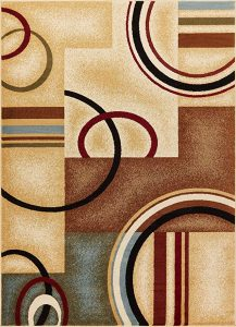 Well Woven Barclay Arcs & shapes area rug