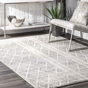 nuLOOM Contemporary Sarina diamond area rug