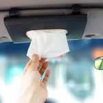 LOCON Car sun visor tissue case