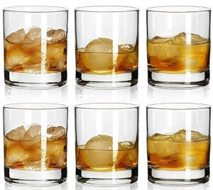 Rock styled old-fashioned whiskey glasses by Bavel