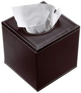 Sumnacon stylish PU leather tissue box holder