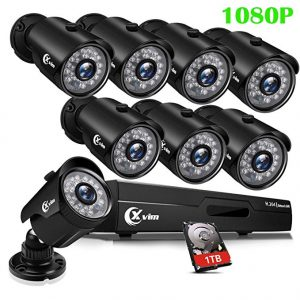 XVIM 8CH 1080p security camera system
