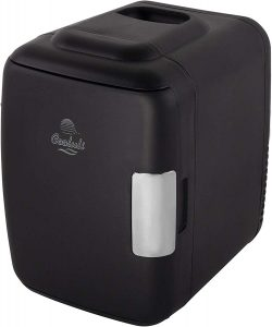 Cooluli Classic 4-liter Compact Cooler/Warmer Mini Fridge for Cars