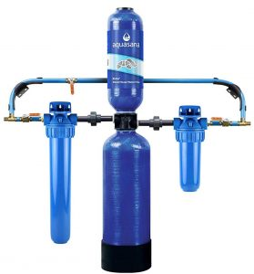 Aquasana carbon & KDF home filtration