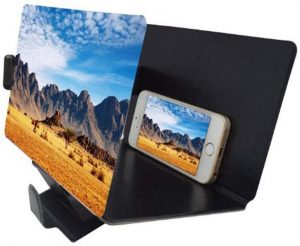Canyoze Screen Magnifier 3D Smart Mobile Phone Movies Amplifier