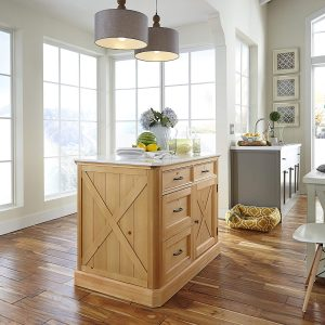 Country Lodge Pin Kitchen Island
