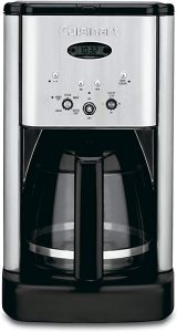Cuisinart electric coffee maker programmable for 12 cups of coffee