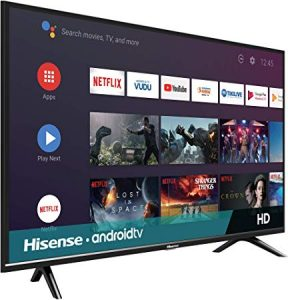 Hisense 32-inch 720p Android Smart LED TV (2019)