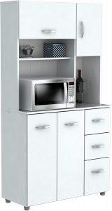 Inval America 4 Door Microwave Storage