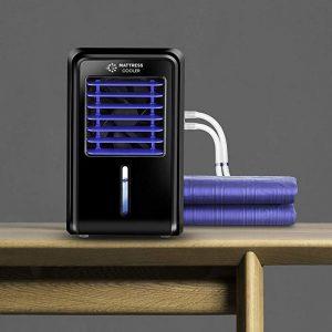 "Mattress Cooler ""Classic"" Chilled Water Sleep Cooling System Small 27""x 63"" Mattress Topper Box Set (Black)"