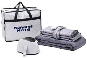 Navien Mate Bed Warmer Dual-Temp Non-Electric Water Powered Bed Warming Mattress Topper by KD Navien