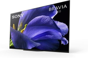 Sony XBR-55A9G 55 Inch TV: MASTER Series BRAVIA OLED 4K Ultra HD Smart TV with HDR and Alexa Compatibility - 2019 Model