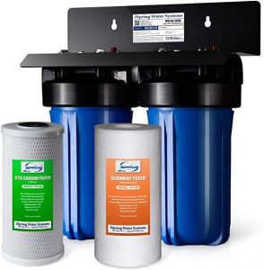 iSPring WGB21B 2 stage whole house water filtration system