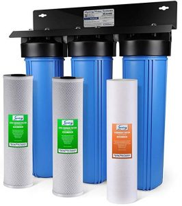 iSpring WGB32B 3-stage house water filtration system