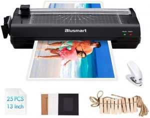 13 inches Laminator, Blusmart Multiple Function A3 Laminator