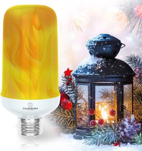 LED Flickering Flame Light Bulbs are designed for both indoor and outdoor lighting decoration.