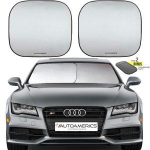 Autoamerics windshield sunshade
