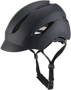 BASE CAMP Adult Bike Helmet with Rear Light for Urban Commuter Adjustable