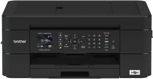 Brother Wireless All-in-One Inkjet Printer, MFC-J491DW, Multi-Function Color Printer