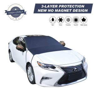 Cypropid car windshield snow cover