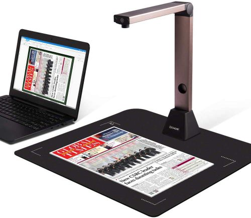 Document Camera iOCHOW S1, High Definition Portable Scanner